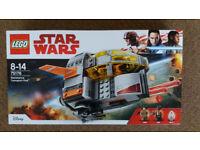 Lego 75176 Star Wars Resistance Transport Pod - Brand New