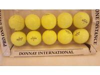 10 Donnay International Golf Balls