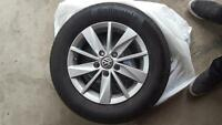 2015 Volkswagen Golf Tires and Rims Package