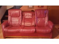3 seat sofa and chair.