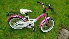 Girls bike 3-6 years excellent condition