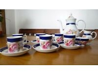 Vintage English Bone China Coffee or Tea Set