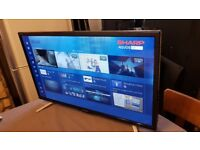 SHARP 24-inch SUPER Smart FULL HD LED TV COMBI,built in DVD PLAYER, Wifi,Freeview HD,GREAT Condition