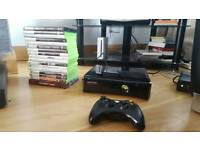 Xbox 360 slim 250gb + 31 Games