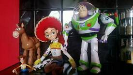 Toy story toys buzz jessie and bullseye