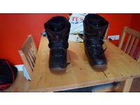 K2 Raider BOA snowboard boots size US 11