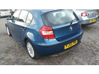 IMMACULATE BMW 118D 5 DOOR ENGINE GEARBOX 100% NEW 1 YR MOT,no smoking or injector problems may px.