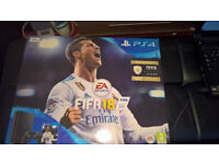 PlayStation 4 Slim + FIFA 18 Brand New & Sealed
