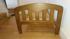 John Lewis Rachel Cot Bed And Bamboo Coconut Wool Mattress