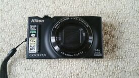 Nikon Coolpix S8200 digital camera, boxed