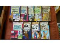 Children's books - 9 horrible histories, esio trot, George's marvellous medicine and gangsta granny