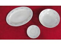 New set fine china. Dinner and Tea Service for 8