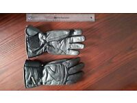Lewis size small leather motorcycle gloves