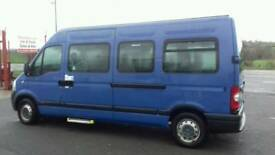 Choice of Renault Master MINIBUSES