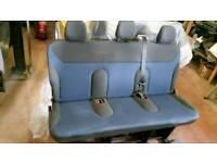 Renault trafic minibus seats. Ideal camper conversion.