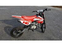Wpb 140cc crf70 pit bike bought in 2016 only just run in and serviced.