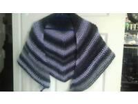 Handmade crochet shawl/scarf