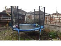 8ft trampoline with anchor kit