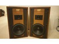 KEF coda3 speakers