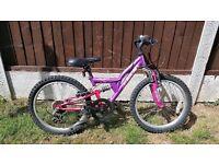 """Girls Apollo 20"""" Wheel Mountain Bike"""