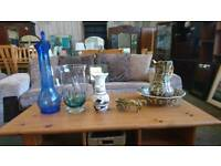 Range of vases available