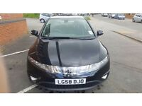 Honda Civic 2.2 Diesel Hatchback 2008. 82K miles. Reduced price due to small bump