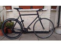 Fast and lightweight singlespeed/Fixie bike