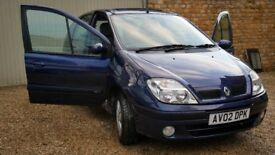 Renault Scenic. A very tidy, good runner and driver. Auto. 2002