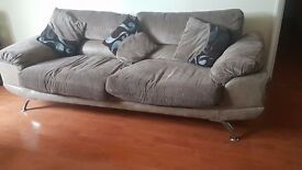 (Now Gone) Free 2x large Sofas worth £1500. moving out, available for collection