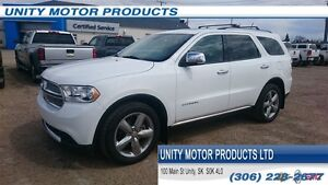 2013 Dodge Durango Citadel Heated Front and 2nd Row Seats! Sunro