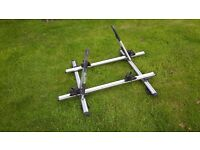Thule Atera GF Roof bike carrier with rapid fit bars and keys, barely used