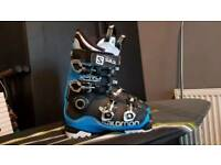 Salmon x pro ski boots 25.5 in mint condition