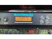 Alesis Quadraverb GT loaded with Shadows & 50's/60's Echos& Effects £75