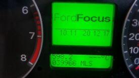 Ford Focus automatic clocks