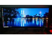 Stunning LG 34inch curved 4k monitor