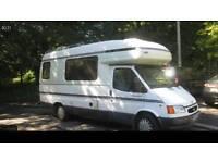 Wanted camper van