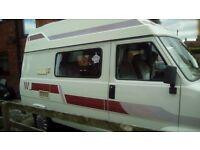 Tolbert 2 berth Camper Van. With power steering.