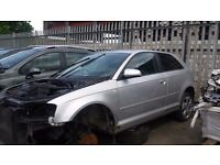 AUDI A3 2006, BREAKING MOST OF THE PARTS AVALIABLE