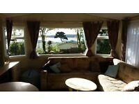 2 bed caravan overlooking sea Rockley Park Poole sleeps 6 - Sept 19 onwards available £55 pn