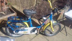 Kids bike age 3-4