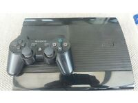 500gb ps3 super slim in great condition with 6 games