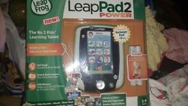 Leap pad 2 power