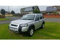 stunnibng example 2004 landrover freelander 1.8 s s/w 4x4 low miles lady owned