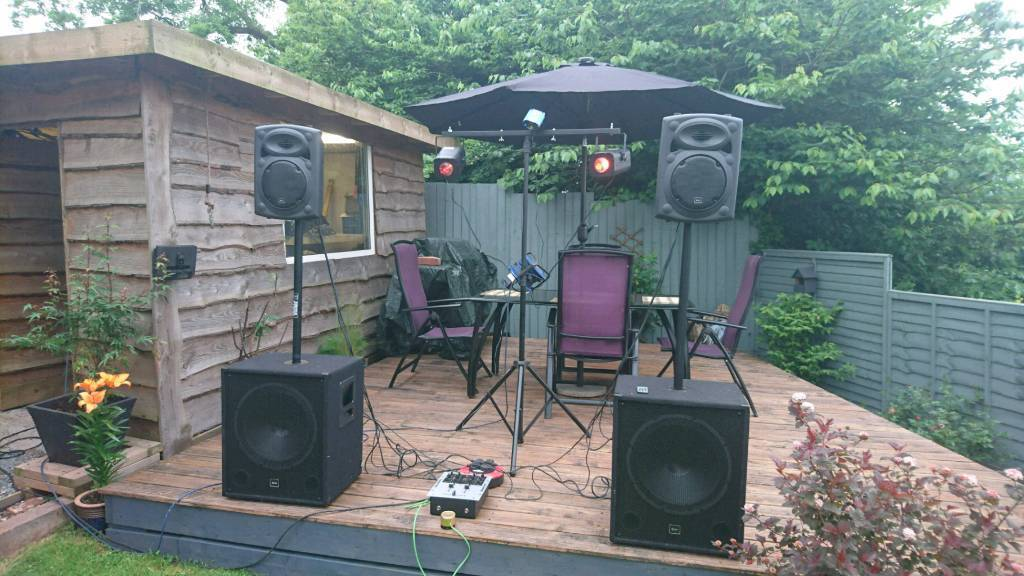 Party speakers pa system audio dj setup | in Paignton, Devon | Gumtree