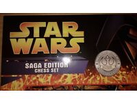 Star Wars Saga Edition Chess Set (Individually Numbered Collectors' Edition)