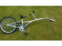 Kids Trailer bike saferider tag-a-long