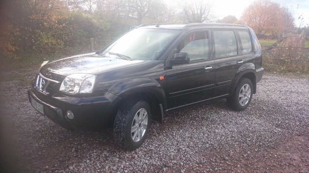 NISSAN X TRAIL 2.5 PETROL 4X4 MANUAL LEFT HAND DRIVE