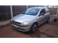 For Sale Very CHEAP Vaxhall Corsa 1.2 with LOW MILAGE ONLY 30000!!!!
