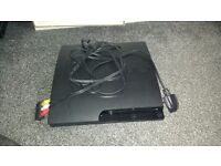 PlayStation 3 with leads no controls