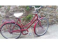Classic Vintage Raleigh Ladies Bicycle / Bike